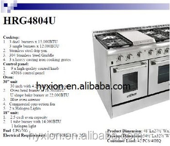 48 inch gas range with two lights best gas ranges reviews buy gas