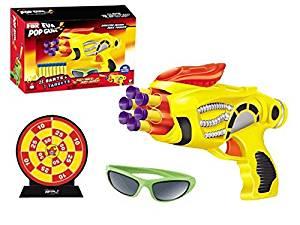 Continuous firing soft nerf bullets gun with 8 Bullets New Pistola nerf megazine toys gun