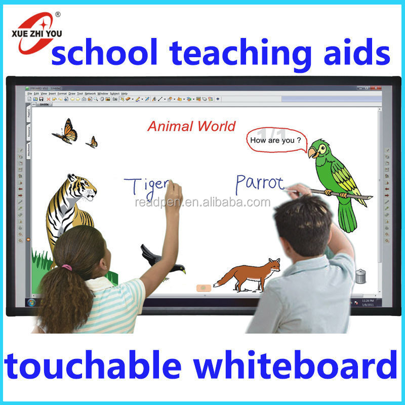 New China products for Sale Advertising media player Smart TV with Teaching Whiteboard