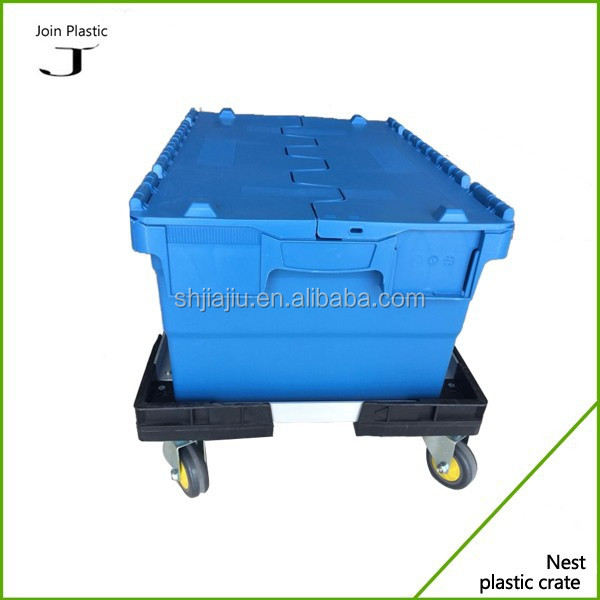 Box moving hydraulic dolly