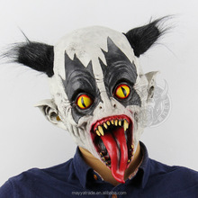 2017 Hot-selling Halloween Costume Scary Full-Head Latex Masks Horror Rubber Masks