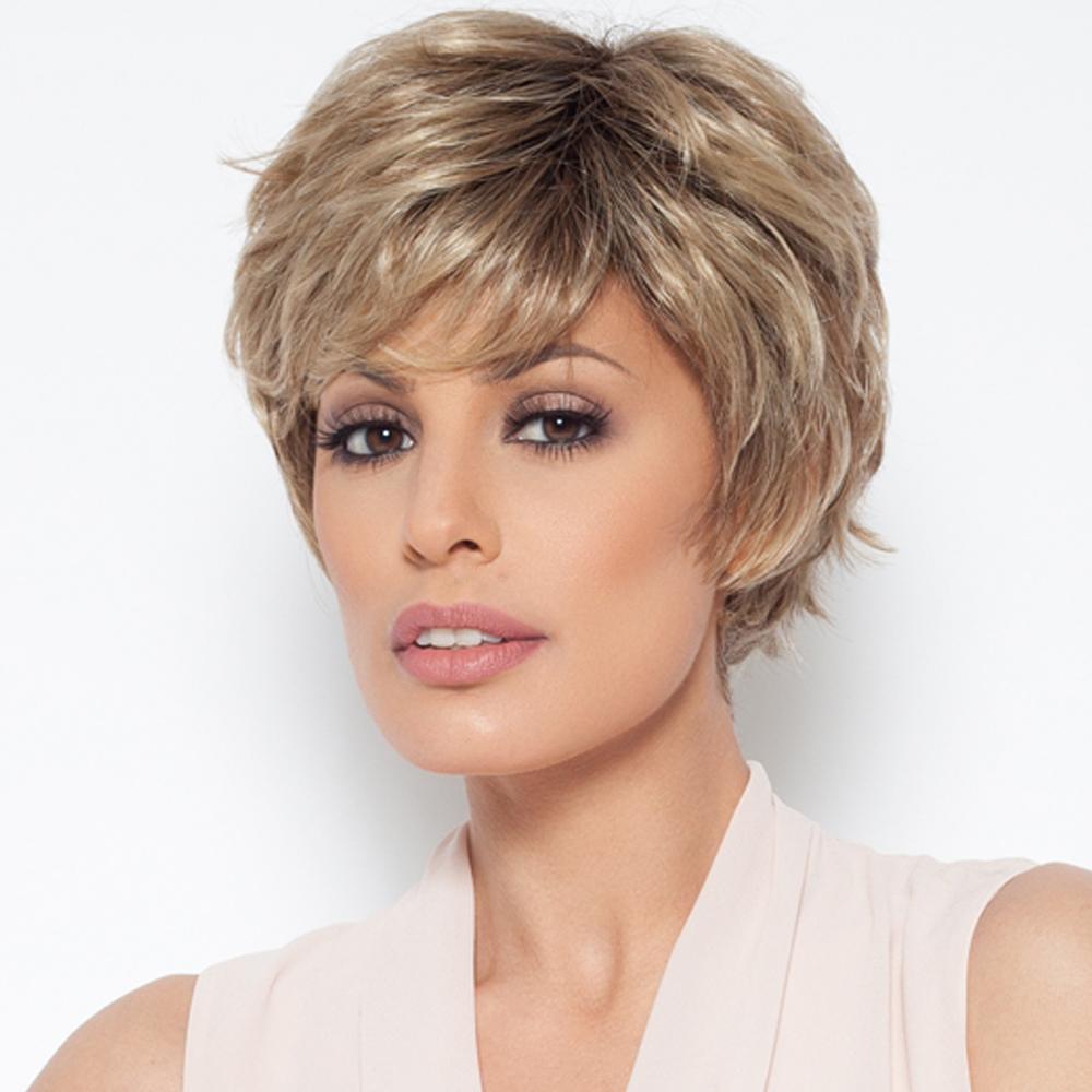 encanto corto rizado pelucas pelucas de pelo humano para las mujeres de cabello humano