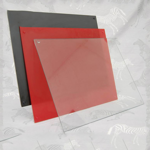 Custom solid color 5mm tempered glass splashbacks