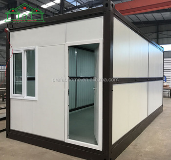 20ft affordable living modular foldable container house