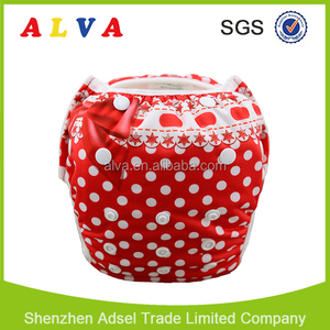 Alva High Quality Cloth Swim Nappies Washable Baby Swim Diapers for Swimming Pool