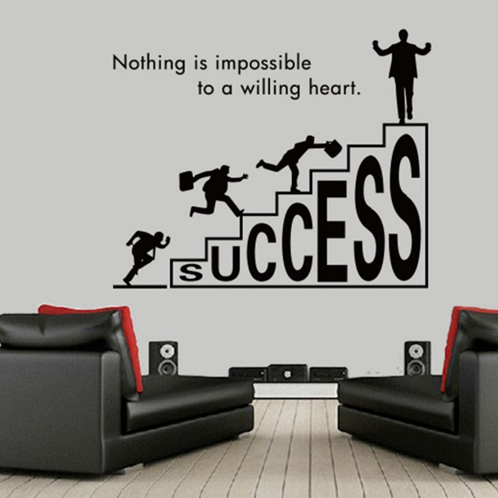 2015 new Free shipping inspirational wall art vinilos paredes Removable wall stickers, home decoration wall stickers