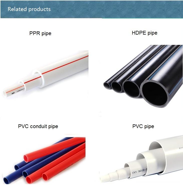 Small plastic diameter mm pvc pipe
