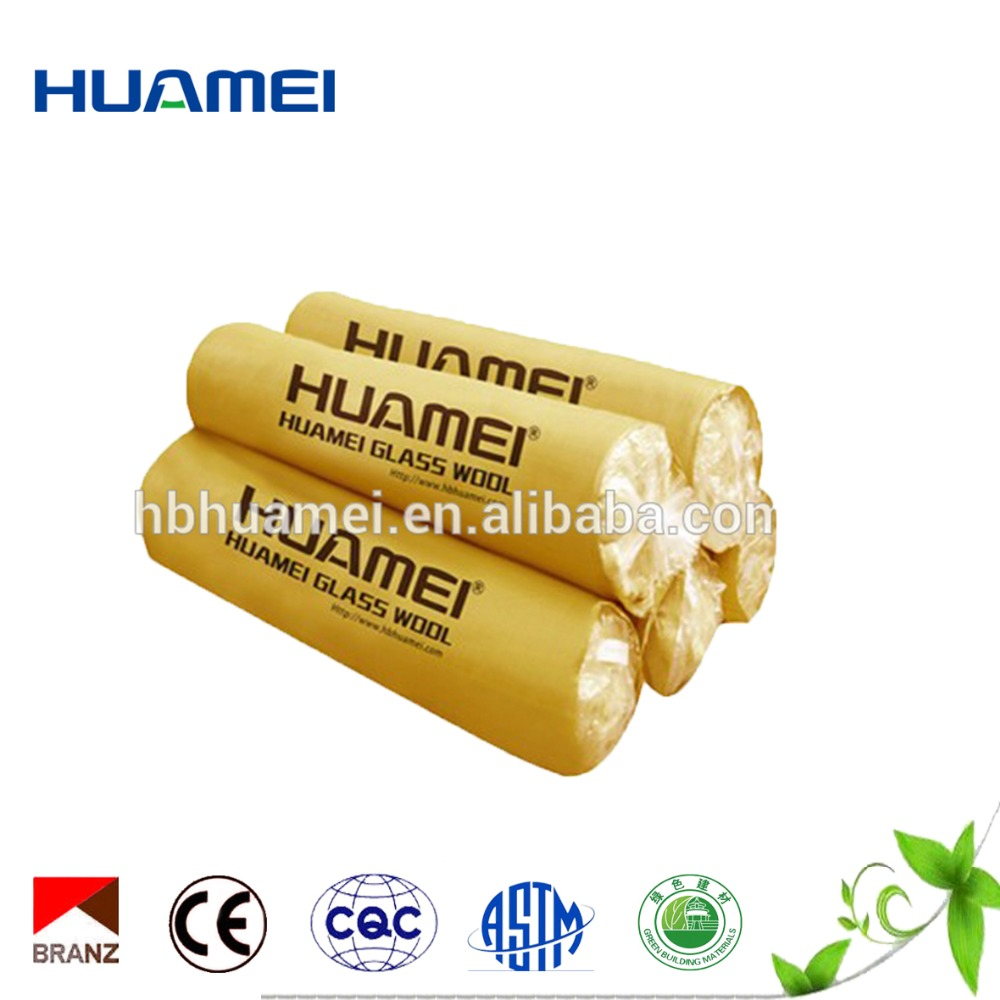 Glass wool Insulation heat and sound fiberglass insulation
