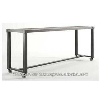 Consolle Con Ruote.Consolle Con Ruote Industriali Console Di Grandi Dimensioni In Metallo Metallo Unita Tv Tavolino Panchina Buy Tv Moderna Consolle Consolle Di Grandi