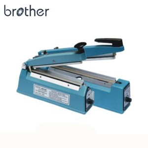 Good price Brother side cutter manual mini hand held plastic bag sealer PCS200/300C