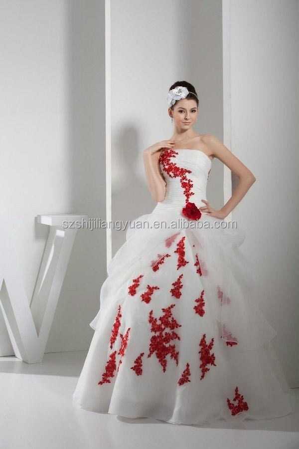 d651f8fe3a red and white wedding dresses red and white wedding dresses suppliers and  manufacturers at alibabacom