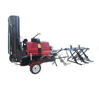 12 ton wood processor firewood processor / log splitter / wood cutter machine