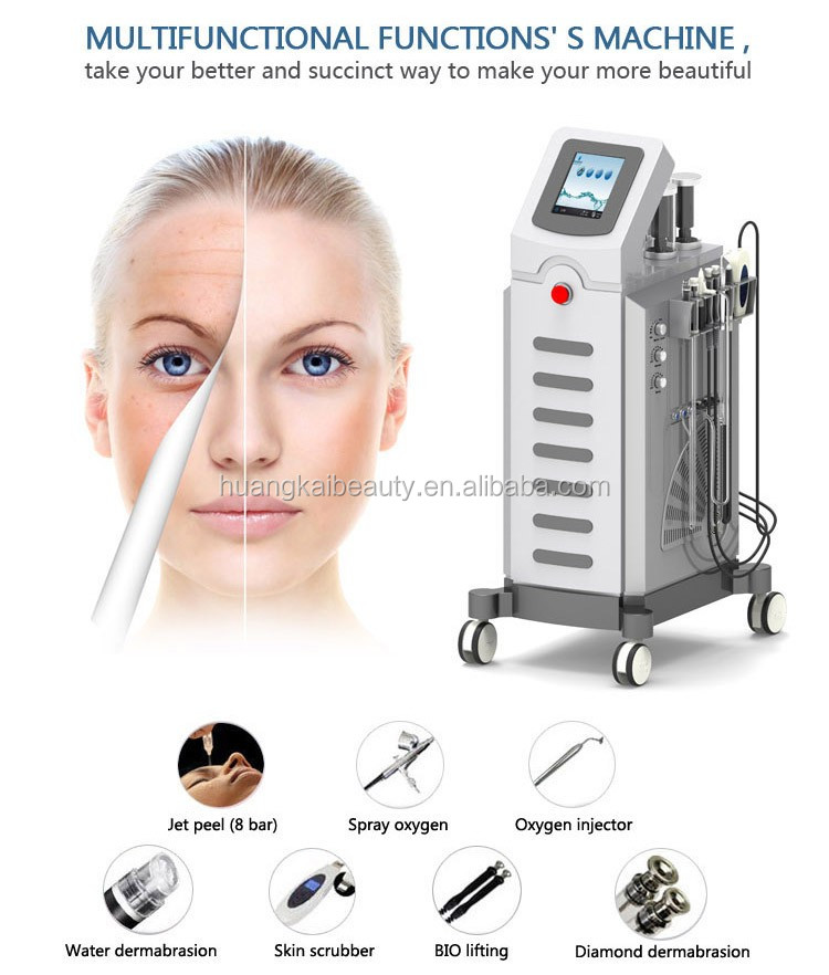 2017 new design multifunction hydro dermabrasion facial /diamond hydra microdermabrasion machine peel machine