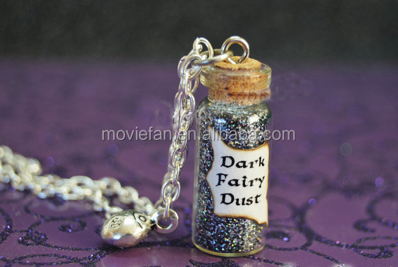 Once Upon a Time Dark Fairy Dust with a Lady Bug Charm Evil Potion Snow White Trolls Enchanted Forest Ouat
