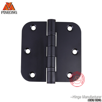 3.5 Inch Stainless Steel Black 2 Ball Bearing 5/8 Radius Corner ...