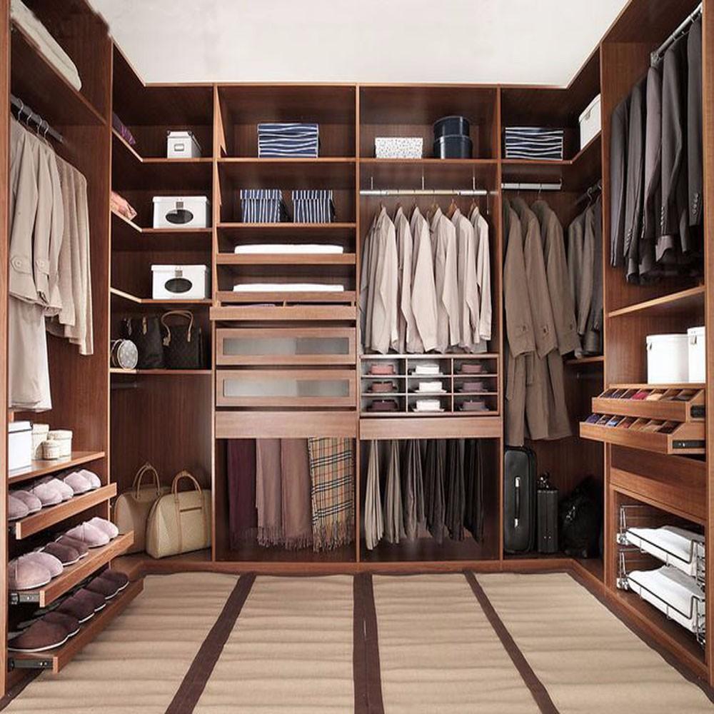 Platzsparende Modernes Design Begehbaren Kleiderschrank Mit