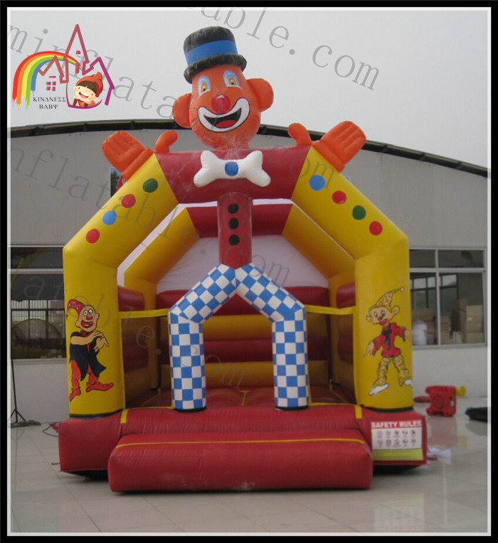 Childrens Indoor Outdoor Clown Bouncer Bounce House Inflatable Trampoline Kids Clown House