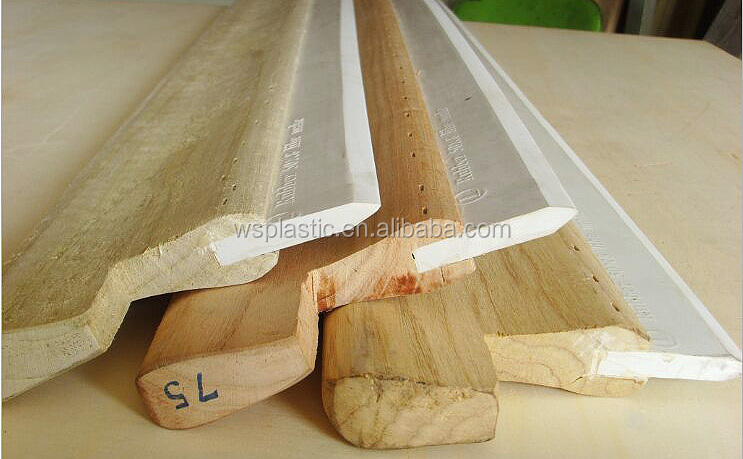 manufacture water squeegee with wooden handle