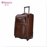 In stock simple travel bag wholesale luggage bags leather luggage with high quality