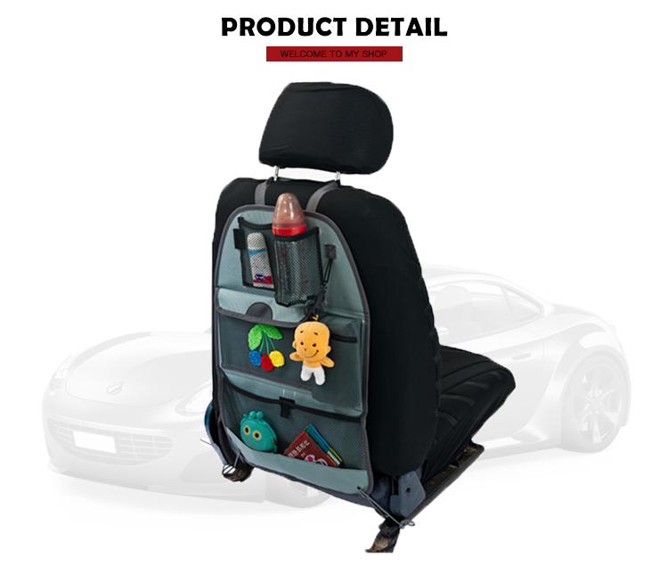 Best Selling Kids Car Seat Back Organizer Protector