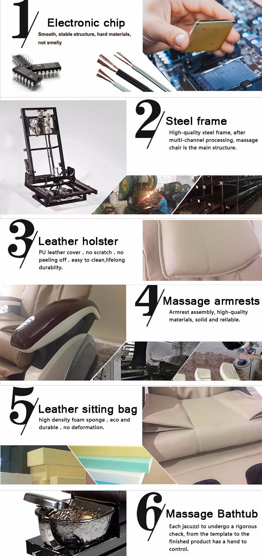 Spa Nail Salon Furniture Foot Luxury Manicure Equipment Pedicure Chair