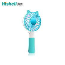 Mini Air Cool Fan Multi-function Personal Rechargeable USB hanging Handheld with LED Light