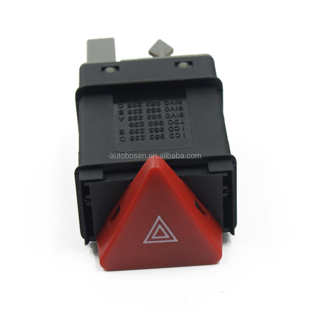 Hazard Light Hazard Switch Button 6N0953235B for VW Polo// Polo Classic