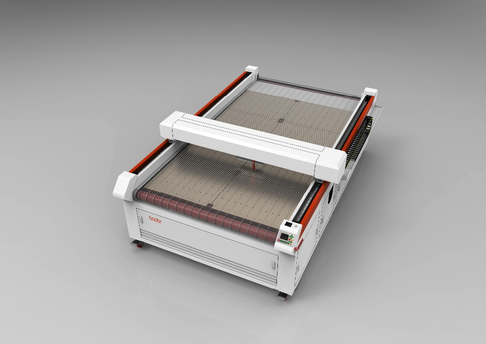 CUTTING ACRYLIC WOOD GALSS MACHINE CHEAP LOW PRICE BODOR CHIAN AUTO-FEEDING LASER CUTTING BED