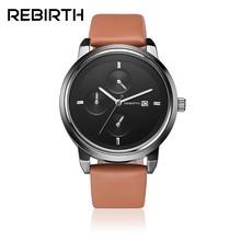6a9d12f04c0d Renacimiento Venta caliente marca de moda relojes hombres mujeres de lujo  reloj masculino reloj de negocios