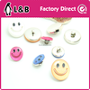 plastic designer clothing buttons resin child button