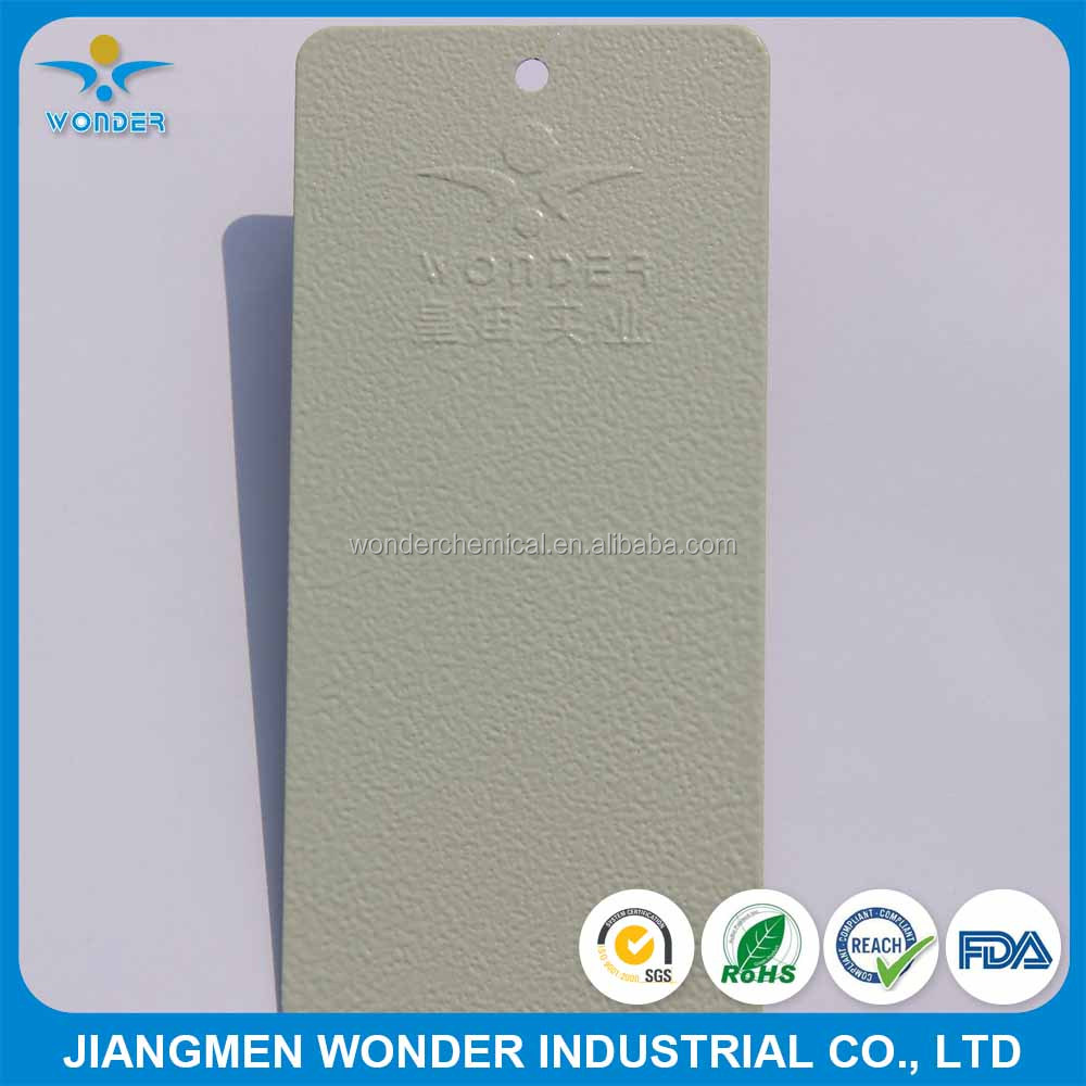 UV Resisting RAL7032 Grey Rough Wrinke Texture Powder Coating For Outdoor Metal