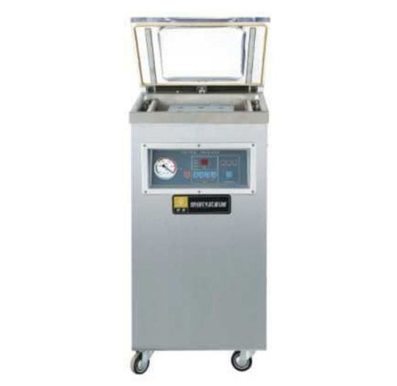 DZ400S single chamber vacuum packaging machine pumping food vacuum sealer