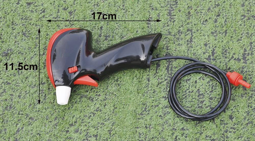 (22581) multipurose plastic water portable trigger battery operated small garden sprayer