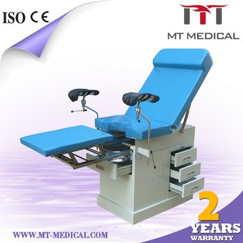 Hydraulic Operation Table Obstetric Delivery Table Examination Bed Antique  Medical Examination Table