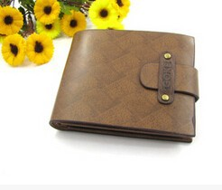Young men fashion classical leather wallet China alibaba supplier wholesale fashion men purse