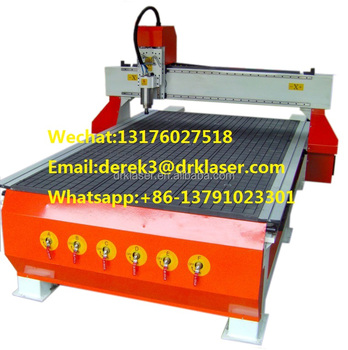 Wood Door Engraving CNC Machine/Furniture Industry Using Woodworking CNC Router DRK1325WO