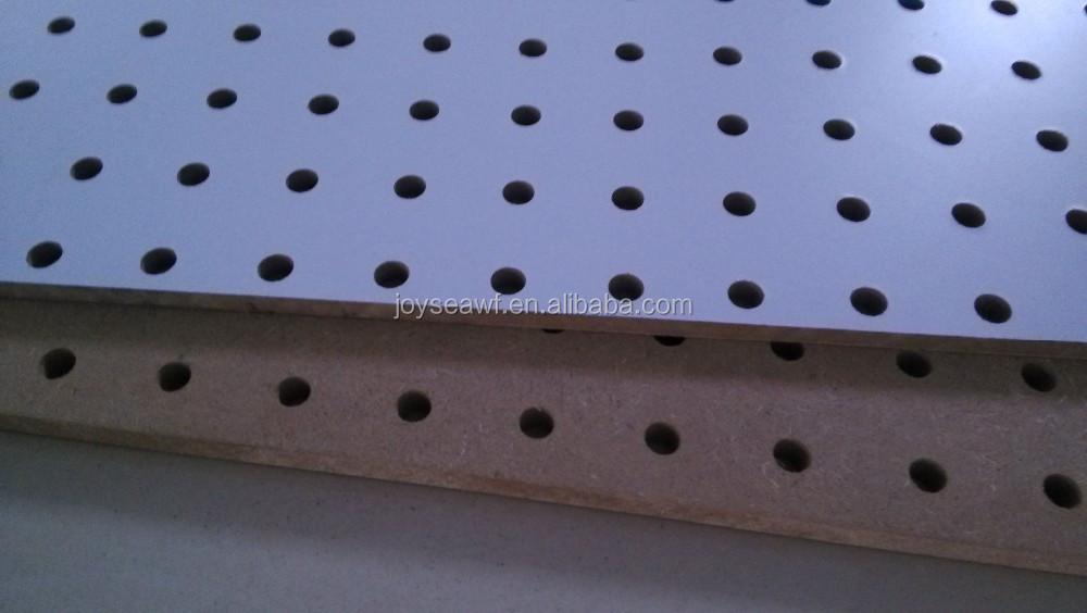 Board board perforado agujero de pared de madera mdf - Tablero perforado madera ...