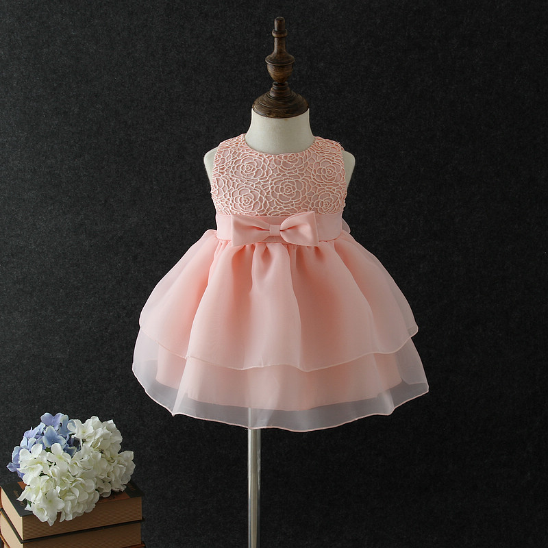 1year baby frocks new born baby dress Price kid clothing summer 1 year old girls one piece dress cute baby girls party dress