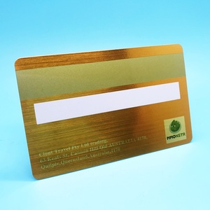 Cost effective printable Hico PVC Plastic Magnetic Gift Card Printing