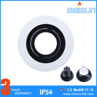 Best Price MR16 Aluminium Round Shape LED Ceiling Light Housing
