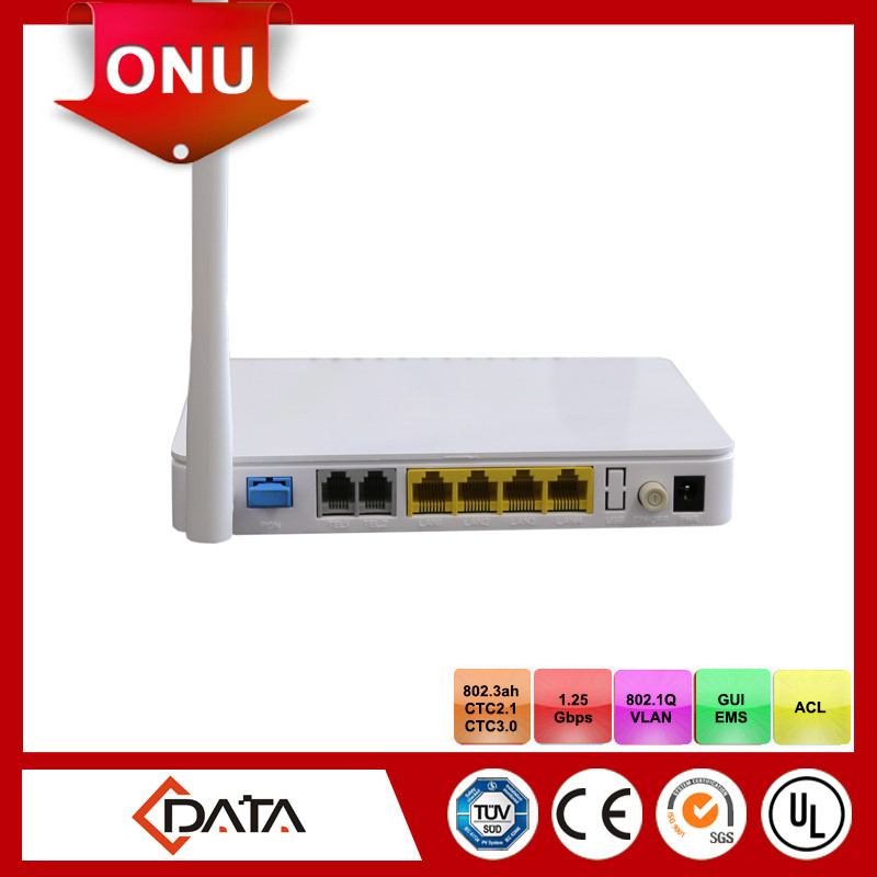 Wireless high speed internet service providers ftth epon onu triple play modem
