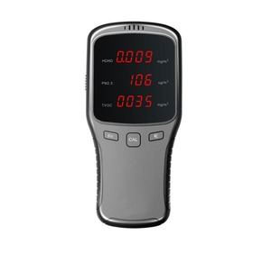 Portable Air Matter Monitors HCHO Tester & PM1/PM2.5/PM10 Meter