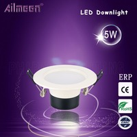 2 Years85-265V Warranty Recessed Lighting LED Dow Light 5w LED Downlight