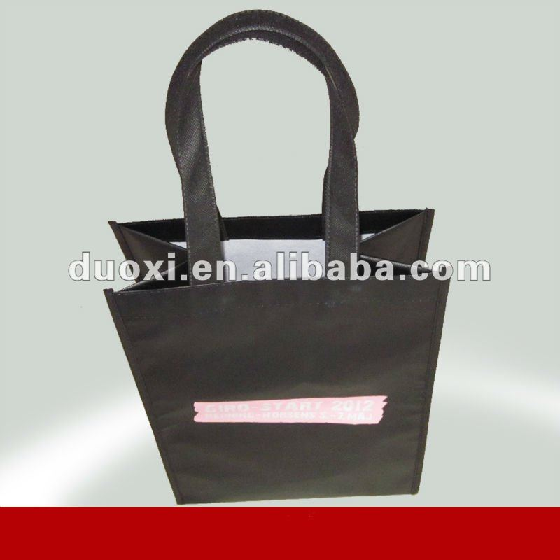 Printed Customized Packaging Bag With Handle shoes it