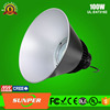 100w table tennis lighting housing high bay&100w low bay fixture used industrial lighting