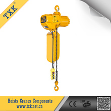 TXK 1 ton electric chain hoist suspension with hook factory directly OEM available