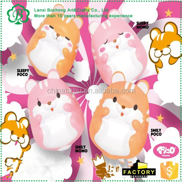Squishy Toys Europe : Jumbo Pom Pom Hamster Super Squishy Slow Rising Cute Kawaii Squishies Gift Toy,Custom Squishy ...