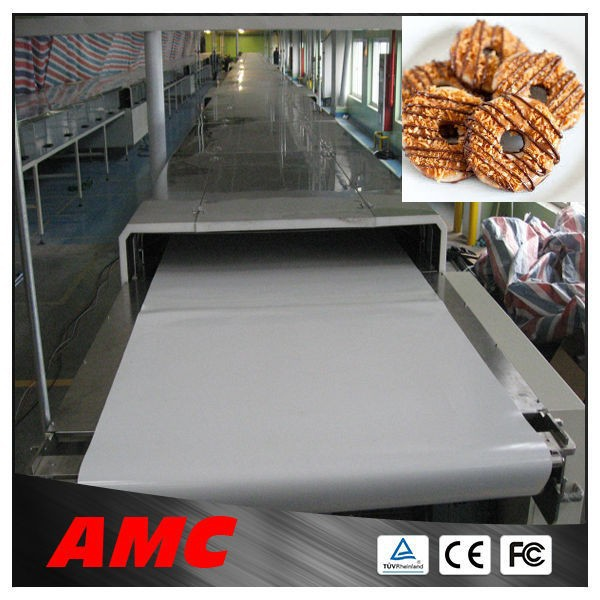 Alibaba High performance price ratio full automatic soda biscuit cooling tunnel