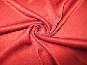 Wholesale 100% polyester double knit interlock fabric, textile manufacturer zhejiang