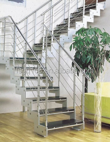 Stainless Steel Staircase With Glass Design Buy Steel Staircase
